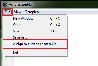 how to add scripts in cheat engine