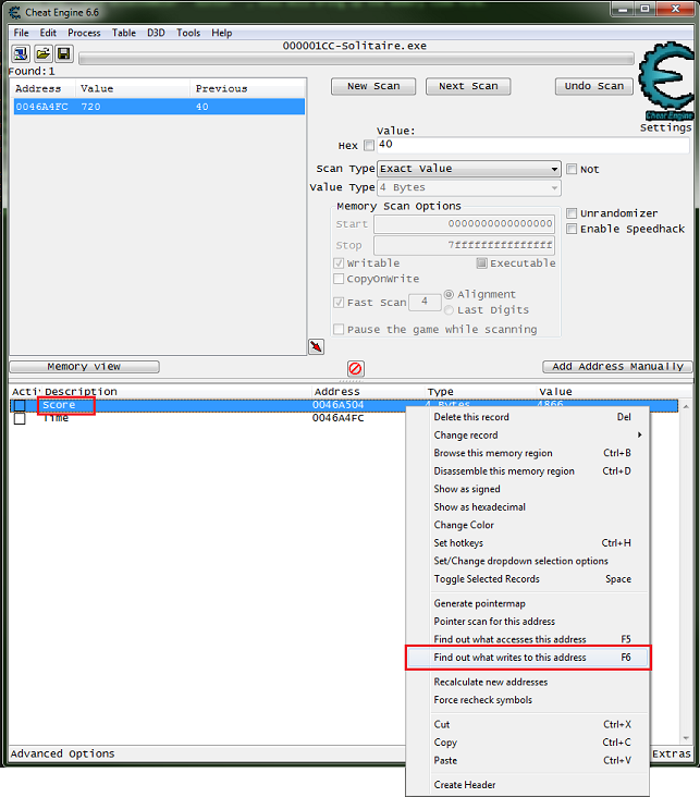 Code Injection - Full - Cheat Engine